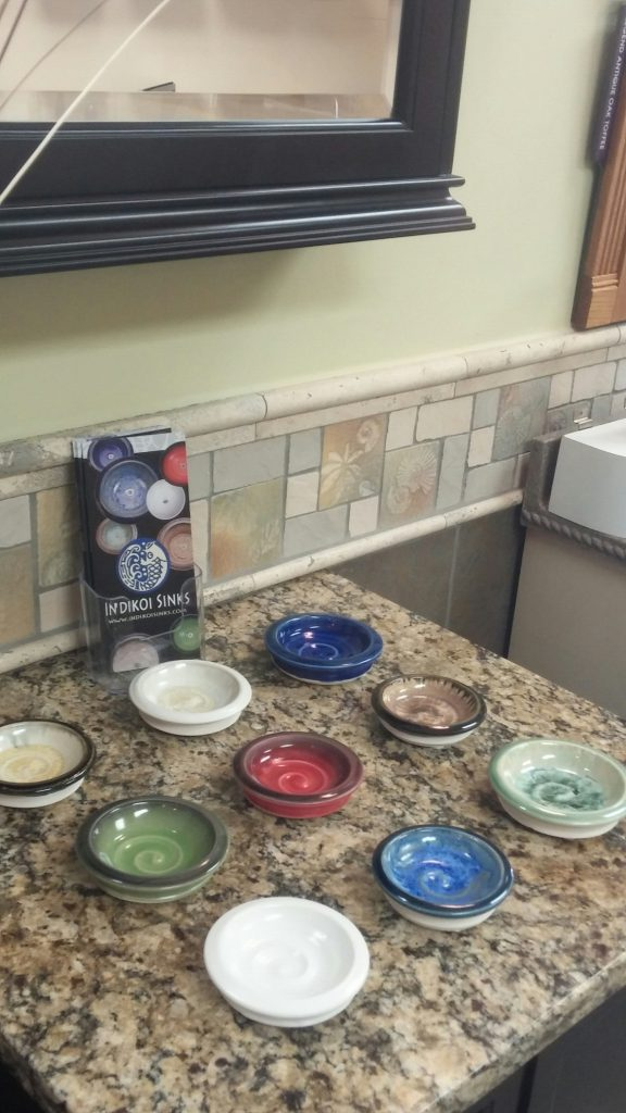 Indikoi sinks offer a wide variety of artistic options in Undermount, Vessel, and overmount styles)....be different!