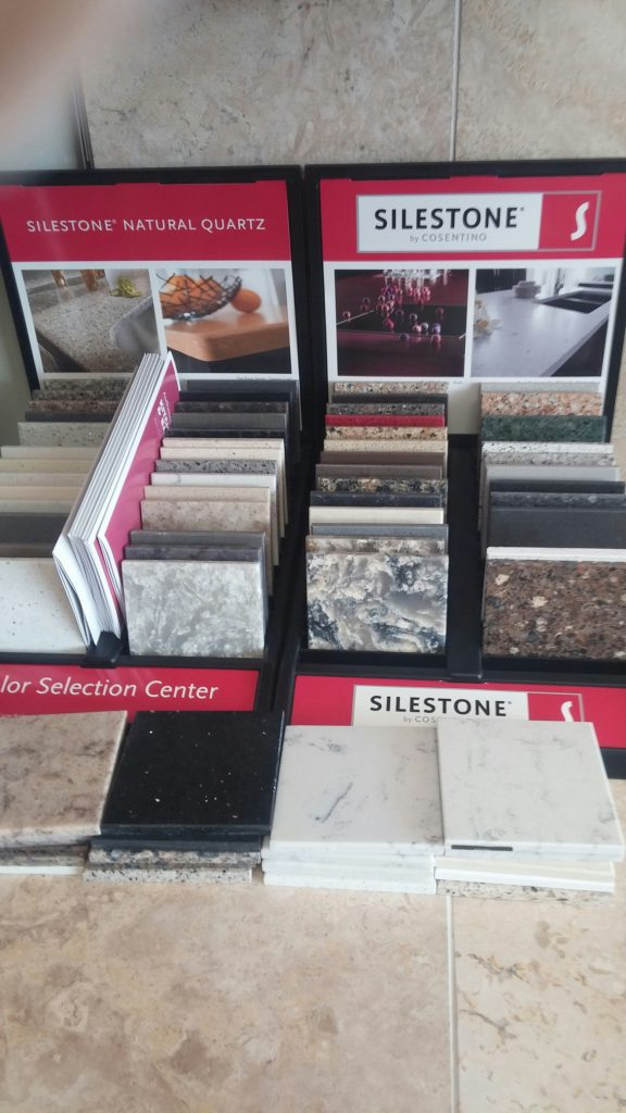 Silestone solid surface quartz