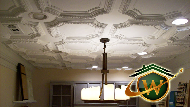 Beautiful crown molding by Wellman