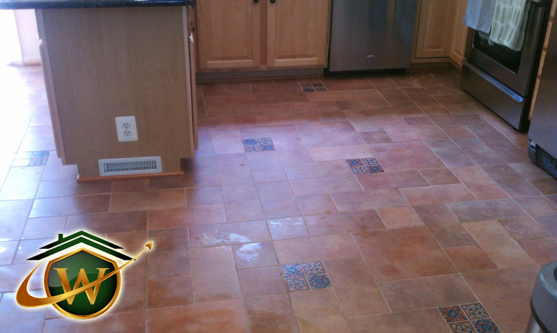 Kitchen Renovation - Tile Floors