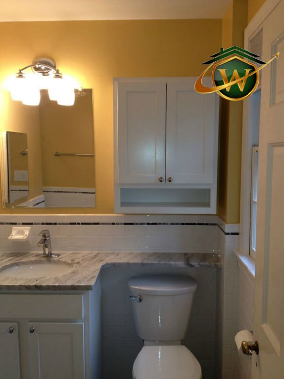 Bathroom Remodel Wellman Contracting