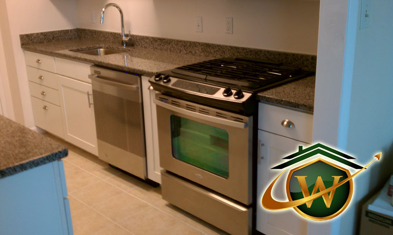 Kitchen Appliances and Granite Countertops