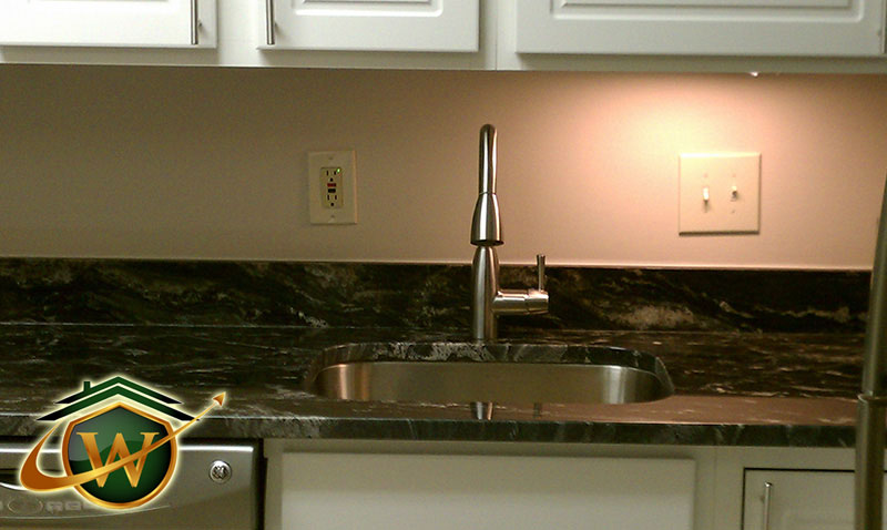 Sink and Granite Countertop in Maryland