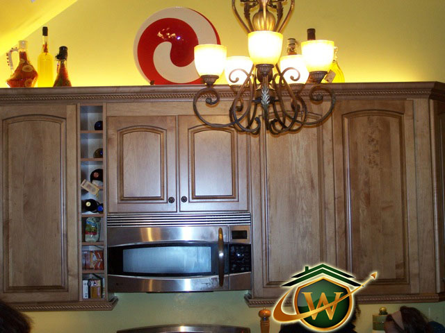 Wooden Kitchen Cabinets in Maryland