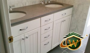 bath - 1030<br>Bathroom Counter &amp; Sink Remodeling
