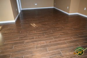 B - 110<br>Hardwood for Basement Remodeling