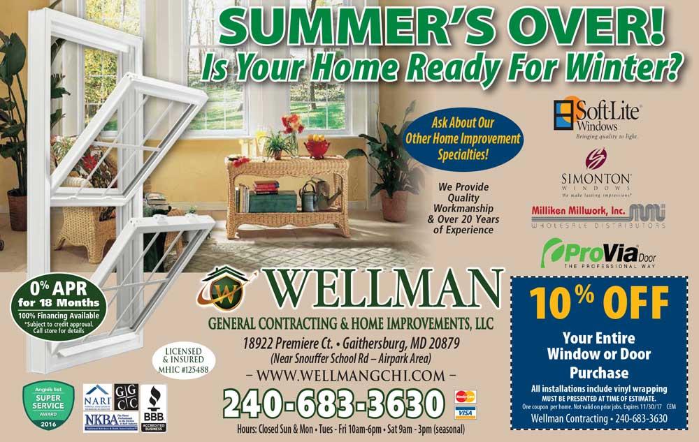 Summer Coupons Kitchen Basement Bathroom Remodeling General Contractor Gaithersburg Md Wellman Contracting