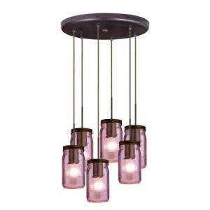 Besa purple pendant